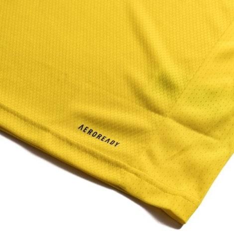 Женская домашняя футболка сборной Швеции на ЕВРО 2020 технология