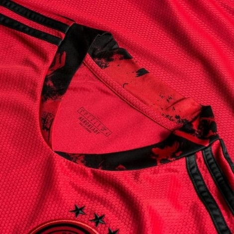 Вратарская футболка Германии Мануэль Нойер ЕВРО 2020 воротник