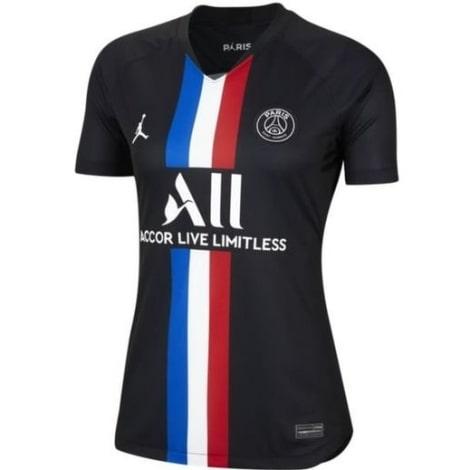 Женская четвертая футболка ПСЖ 2019-2020 JORDAN