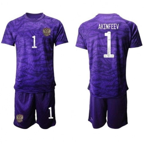 Детская фиолетовая форма России Акинфеев на ЕВРО 2020-21