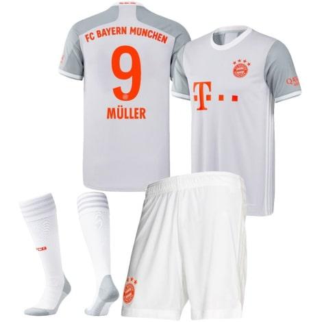 Детская гостевая форма Баварии Томас Мюллер 2020-2021