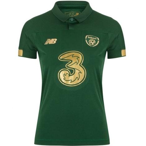 Женская домашняя футболка сборной Ирландии на ЕВРО 2020-21