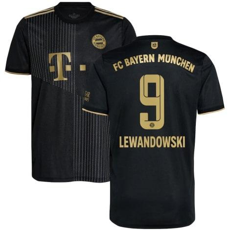 Детская гостевая форма Баварии Левандовски 2021-2022 футболка