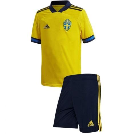 Домашняя футбольная форма Швеции на чемпионат Европы 20-21
