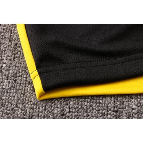 Черно-желтый костюм Боруссии Дортмунд 2021-2022 воротник ткань