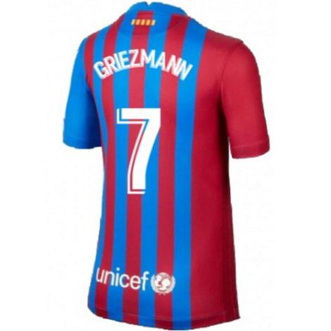 Домашняя футболка Барселоны 2020-2021 Гризманн