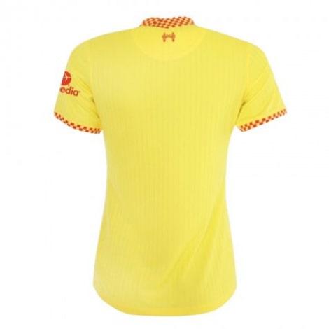 Женская третья футболка Ливерпуля 2021-2022 сзади