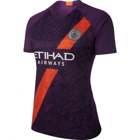 Женская третья футболка Манчесетр Сити 2018-2019