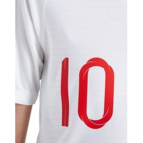 Детская домашняя форма Англии на ЧМ 2018 Деле Алли номер 10 на груди