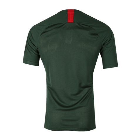 Гостевая игровая футболка Монако 2018-2019 сзади