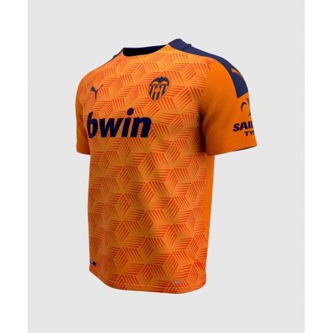 Гостевая игровая футболка Валенсия 2020-2021