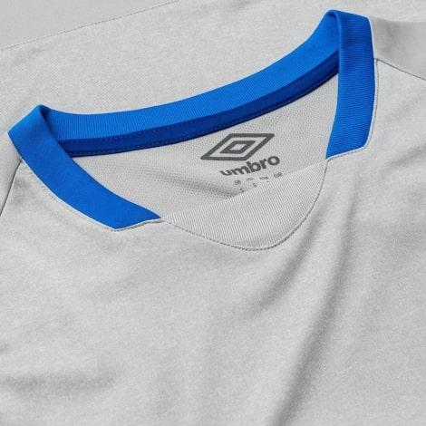 Гостевая игровая футболка Шальке 04 2018-2019 воротник