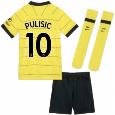 Детская гостевая форма Челси Кристиан Пулишич 2021-2022