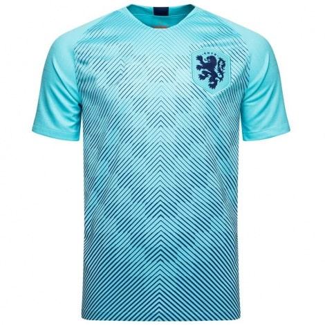 Гостевой комплект детской формы Голландии 2019-2020 футболка