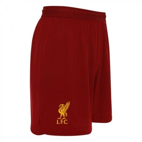 Комплект взрослой домашней формы Ливерпуля 2019-2020 шорты сбоку