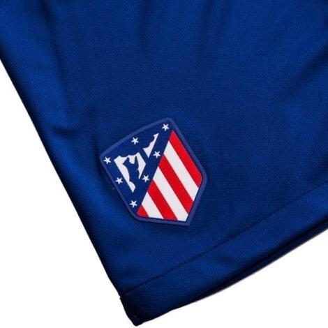 Детский комплект домашней формы Атлетико 2019-2020 шорты герб клуба