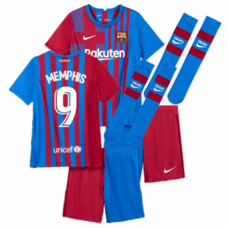 Детская домашняя футбольная форма Депай 2021-2022
