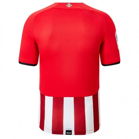 Детский комплект домашней формы Атлетик Бильбао 2021-2022 футболка сзади