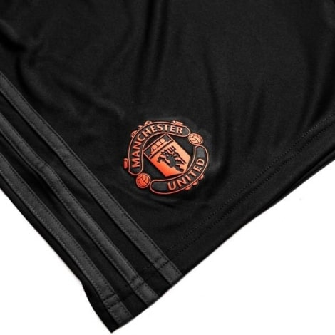 Взрослая третья форма Манчестер Юнайтед 2019-2020 шорты герб клуба