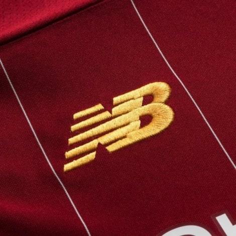 Детская домашняя футбольная форма Салах 2019-2020 футболка бренд