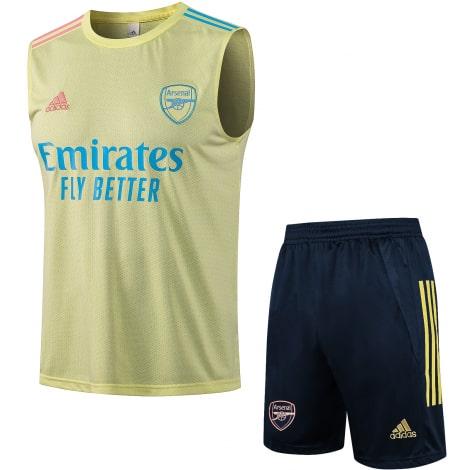 Желто-синяя тренировочная форма Арсенала 2021-2022