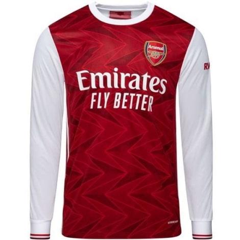 Домашняя форма Арсенала 2020-2021 c длинными рукавами футболка
