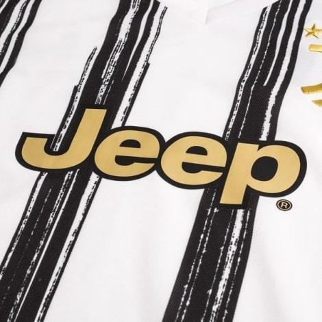 Домашняя игровая футболка Ювентуса 2020-2021 титульный спонсор