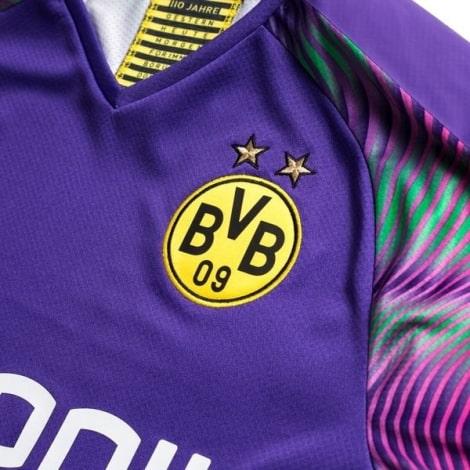 Вратарская третья футболка Боруссии Дортмунд 2019-2020 герб клуба