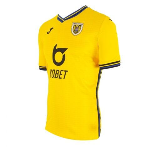 Третья игровая футболка Суонси 2019-2020 сбоку