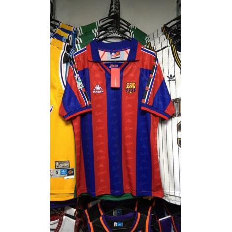 Домашняя ретро футболка Барселоны 1996-1997