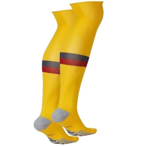 Комплект детской четвертой формы Барселоны 2019-2020 гетры