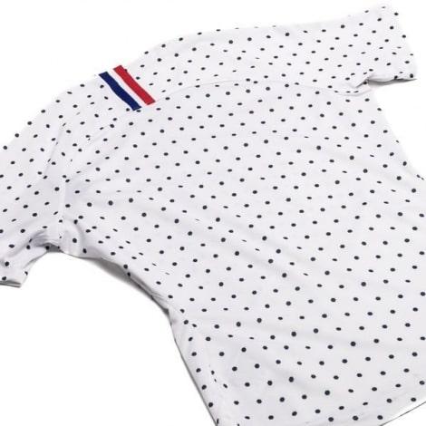 Женская гостевая футболка сборной Франции на ЕВРО 2020 сзади