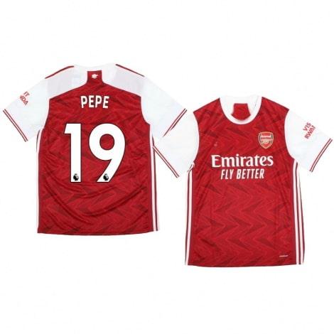 Домашняя футболка Арсенала Николя Пепе 2020-2021