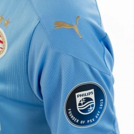 Гостевая игровая футболка ПСВ 2020-2021 рукав