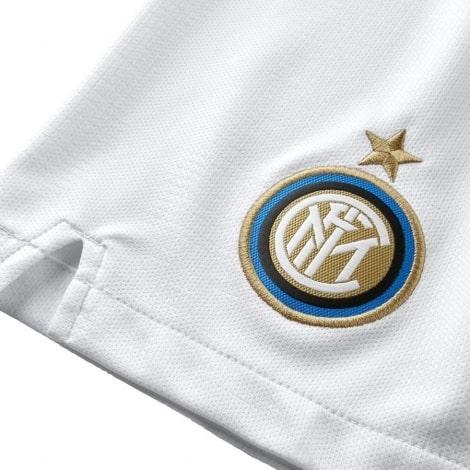 Шорты взрослой гостевой формы Интер 2018-2019 герб клуба