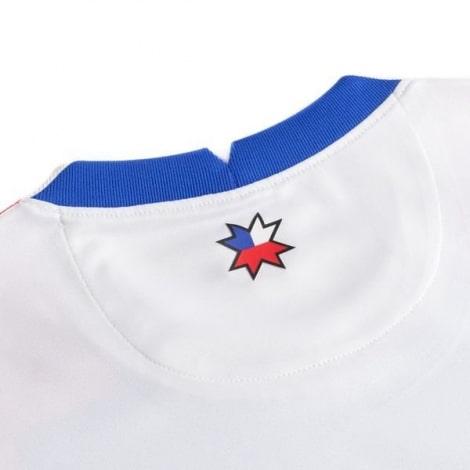 Гостевая футболка сборной Чили 2020-2021 воротник сзади