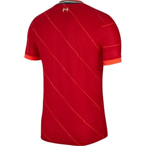 Домашняя аутентичная футболка Ливерпуля 2021-2022 сзади