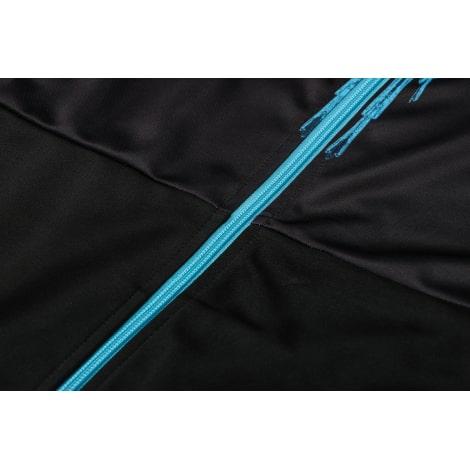 Черно-голубой спортинвый костюм Наполи 2021-2022 молния