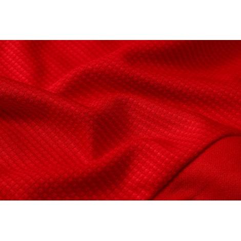 Красно-черный спортивный костюм АЯКС 2021-2022 ткань