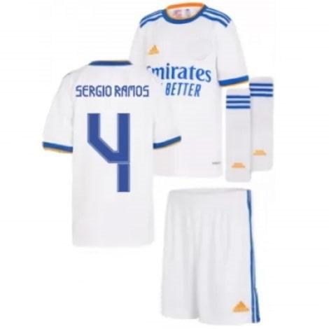 Детская домашняя футбольная форма Серхио Рамос 2021-2022