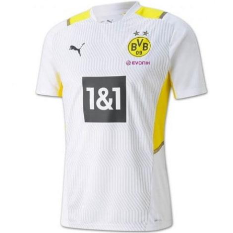 Белая тренировочная футболка Боруссии Д 2021-2022 Ройс