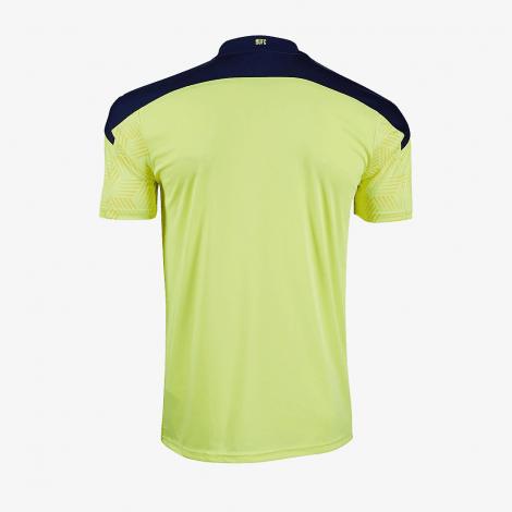 лект взрослой гостевой формы Ньюкасл 2020-2021 футболка сзади