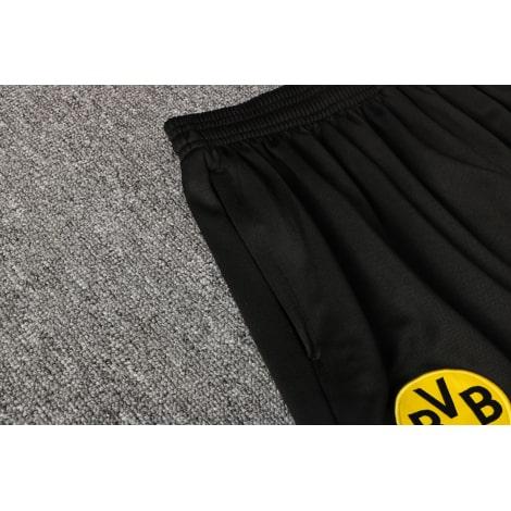 Черно-желтый тренировочный костюм Челси 2021-2022 карман