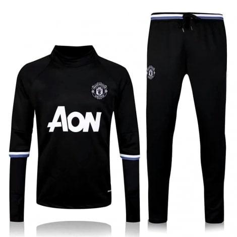 Черный спортивный костюм Манчестер Юнайтед 2017