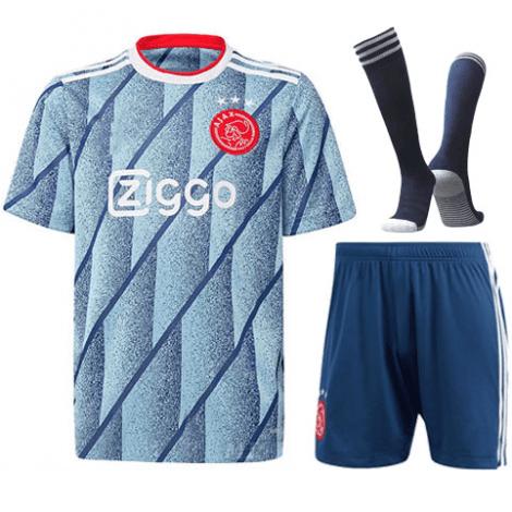 Комплект взрослой гостевой формы АЯКС 2020-2021 футболка шорыт и гетры