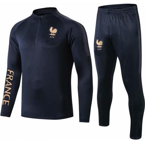 Черный костюм сборной Франции по футболу 2019-2020