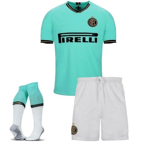 Комплект взрослой гостевой формы Интер 2019-2020 футболка шорты и гетры