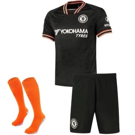 Комплект взрослой третьей формы Челси 2019-2020 футболка шорты и гетры