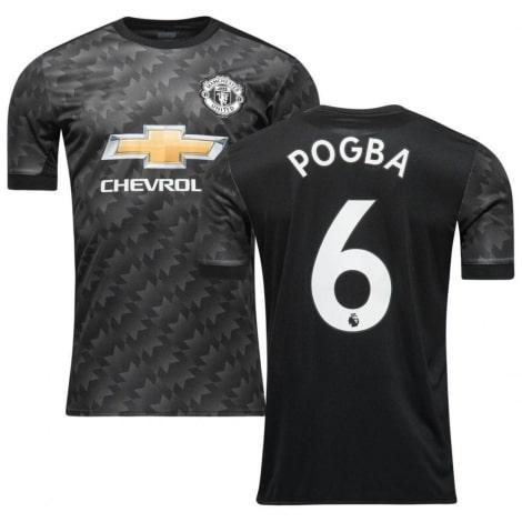 Гостевая футболка Манчестер Юнайтед 2017-2018 Погба