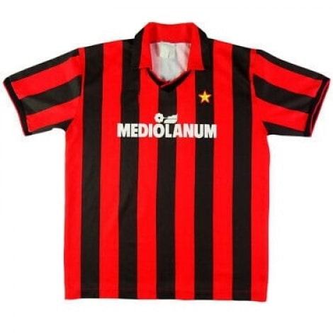 Домашняя ретро футболка Милан 1991-1992